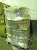 Pallet of approx 80x Alonso cisterns, new.