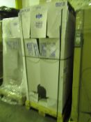 Pallet of 12x Roca Body Plus 1700 x 750 bathtub, new and packaged with feet. RRP Each Circa £300.00