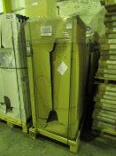Pallet of 20x Roca steel bath 1600 x 700 0TH, new and packaged with feet.