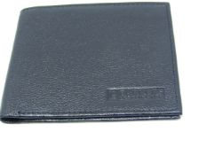 Barkers of Kensington Black Leather wallet new & packaged