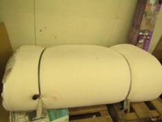 Dormeo Double mattress, has a few dirty marks from being moved around the warehouse but overall in