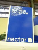   1X   NECTAR TENCEL SINGLE MATTRESS PROTECTOR   UNCHECKED AND BOXED  