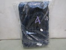 Accessories - Navy Dyed Knitted Wool Hat & Scarf Set - New & Packaged.