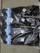 Pack Of 12 - Fresh Feel - Cotton Odour Free Socks - Size 6-11 - Black - New & Packaged.