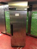 Foster Xtra XR600L stainless steel single door cabinet freezer