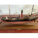 Akranes FD33 Trawler Ship/boat/vessel 1:30 Scale Model