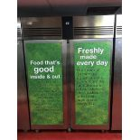 Foster Refrigeration ECOPRO G2 EP1440H two door stainless steel upright refrigerator