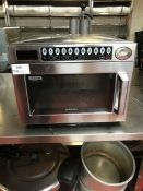 Samsung CM1529 26 Litre programmable commercial stainless steel microwave oven