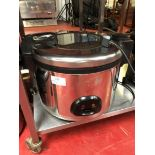Buffalo CK698-02 9 Litre stainless steel commercial rice cooker