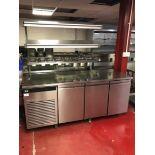 Foster Refrigeration ECOPRO G2 EP1/3H three door under counter refrigerator