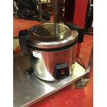 Buffalo J300 6 Litre stainless steel commercial rice cooker