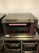 Burco BC CTC002 stainless steel countertop convection oven