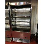 Pastorkalt Karlos 937 M2 stainless steel multi deck display chiller