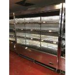 Pastorkalt Karlos 1875 M2 stainless steel multi deck display chiller