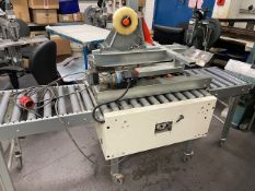 Soco Systems T10 Case Sealer with In and Outfeed Conveyor