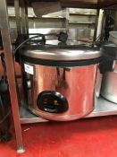 Buffalo CK698-02 stainless steel commercial large rice cooker