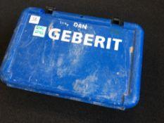 Gerberit AC0202XL Pressfit Gun - 15-35mm heads & battery and carry case