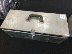Clarke Core Drill Set with steel tool box