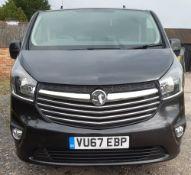 Vauxhall Vivaro 2-axle rigid body panel van