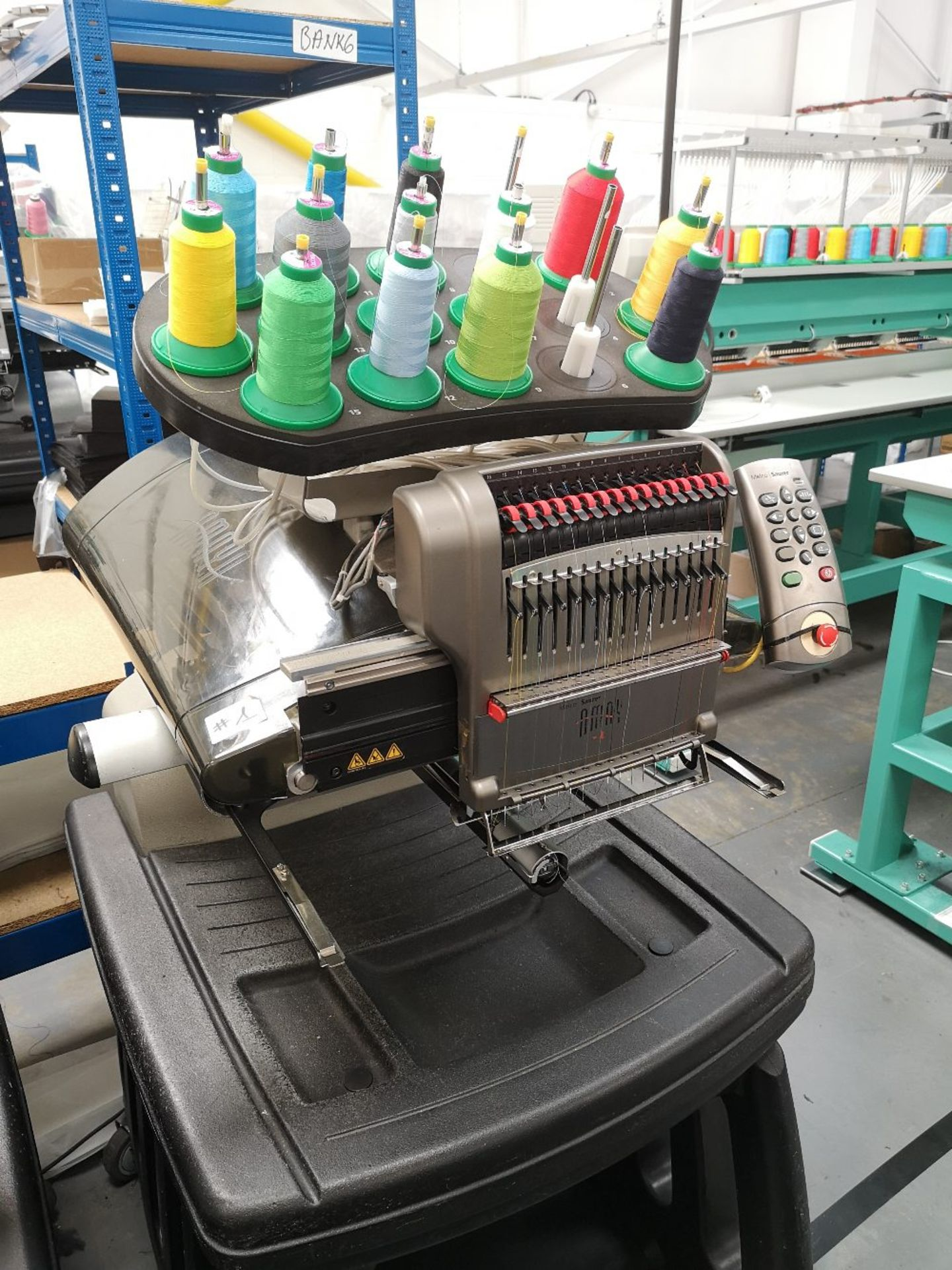 MELCO Amaya Embroidery Machine XT PN 3000007