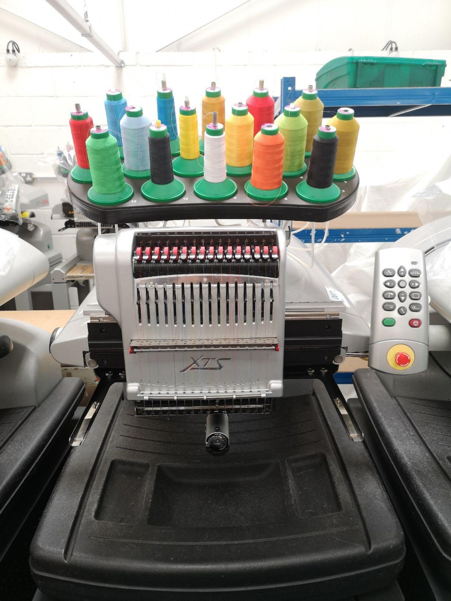 MELCO Amaya Embroidery machine XTS PN SRR30000-10 - Image 3 of 4