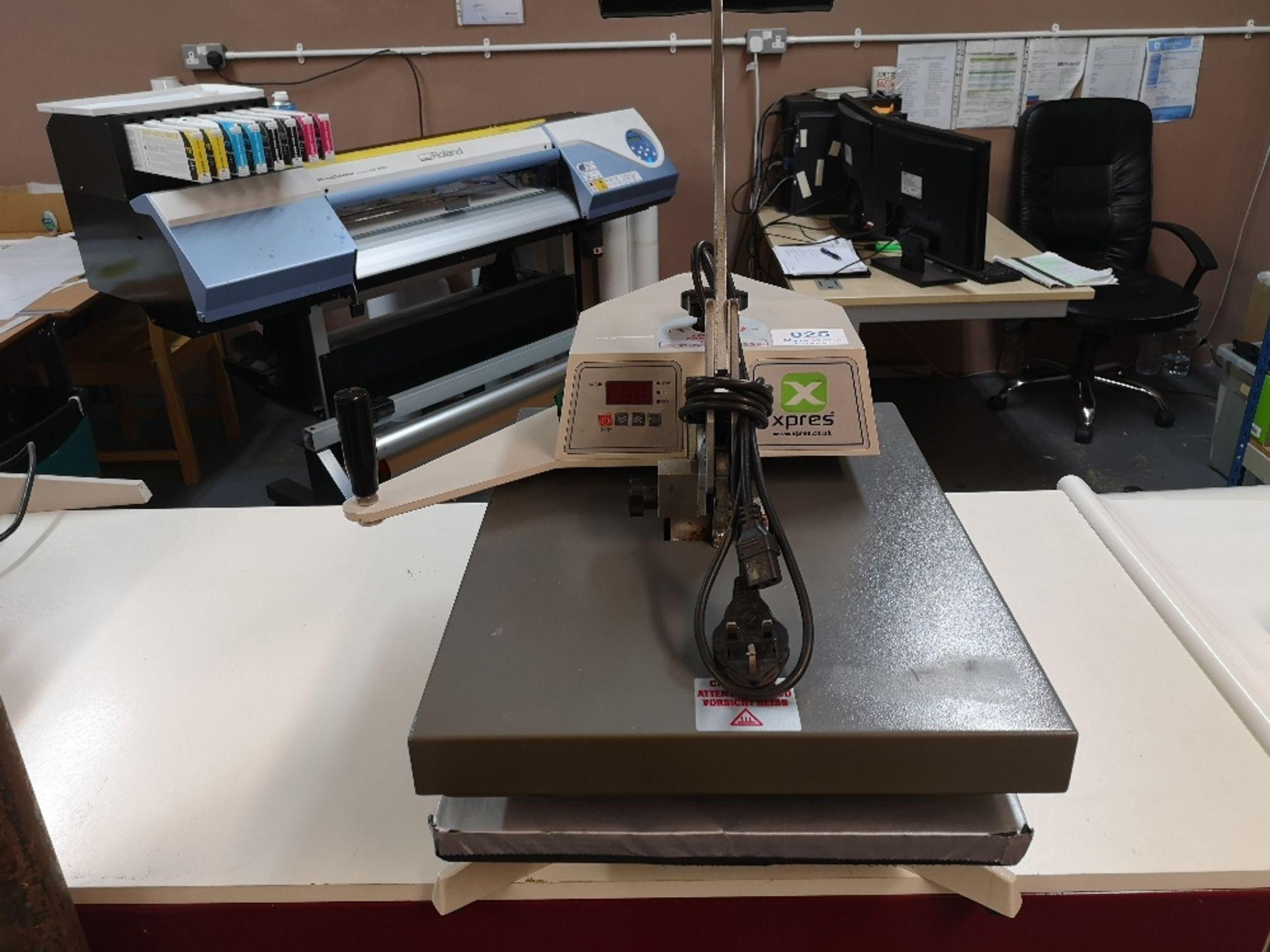 XPRES BMC20 Swing Press T-Shirt Printing Machine (2017) - Image 2 of 4
