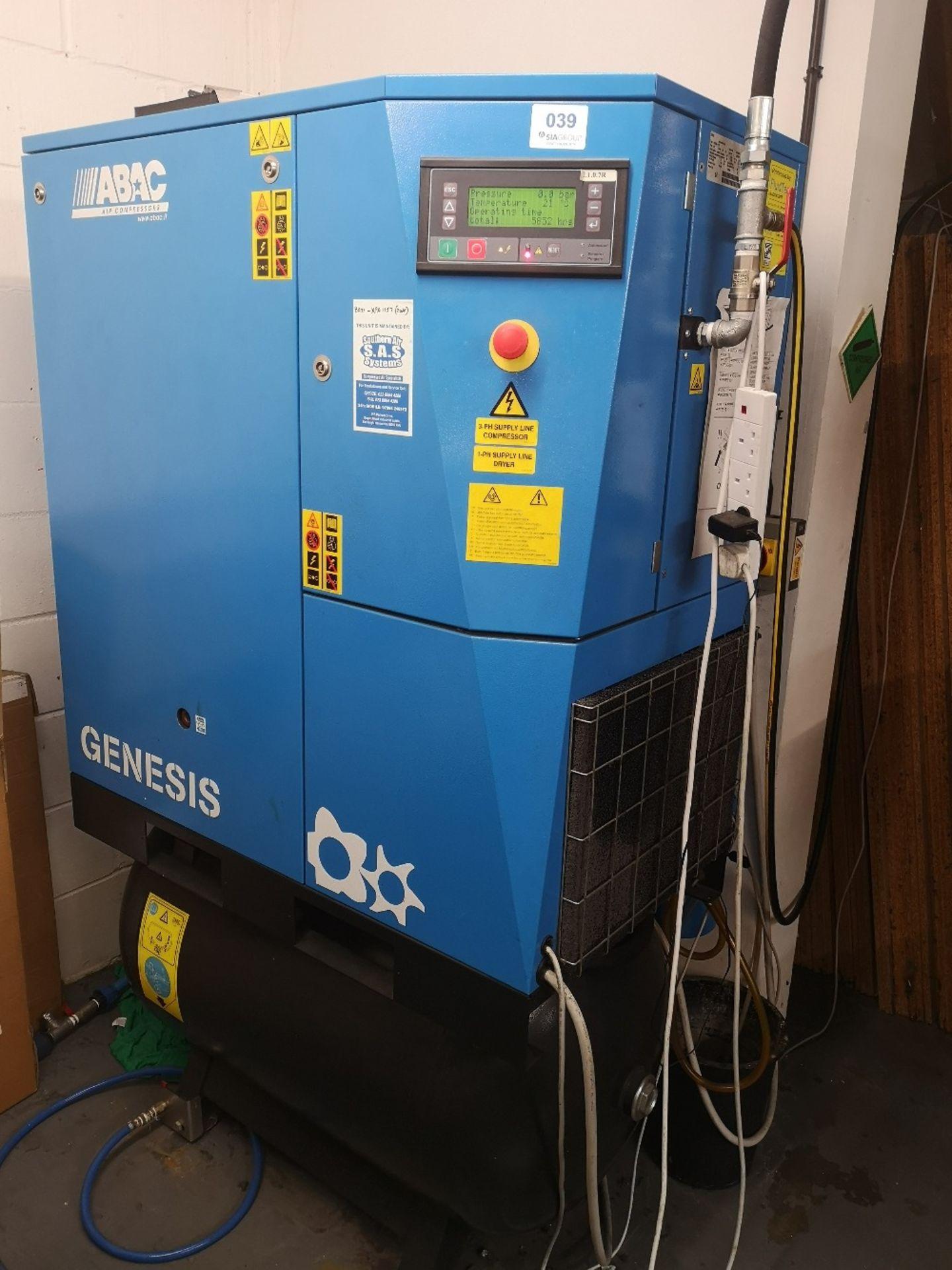 ABAC GENESIS 11 270 Variable Speed Rotary Screw Air Compressor