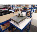 XPRES BMC20 Swing Press T-Shirt Printing Machine (2014)