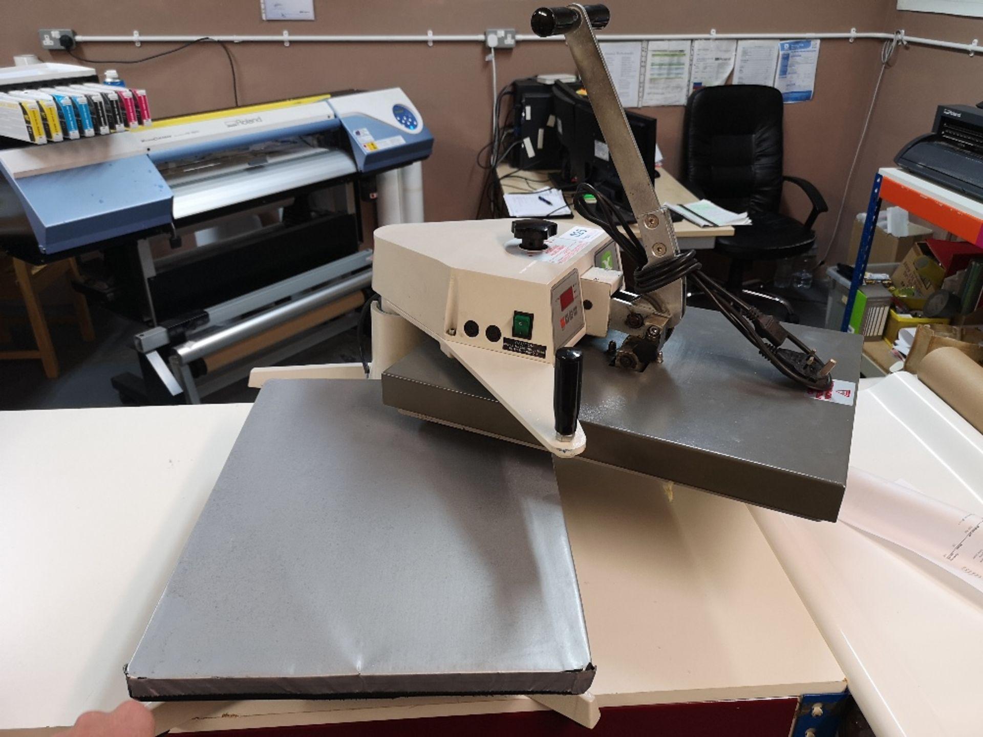 XPRES BMC20 Swing Press T-Shirt Printing Machine (2017) - Image 3 of 4