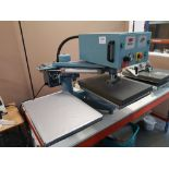 The Magic Touch OMC1000 Twin Table Pneumatic Heat Press (2012)