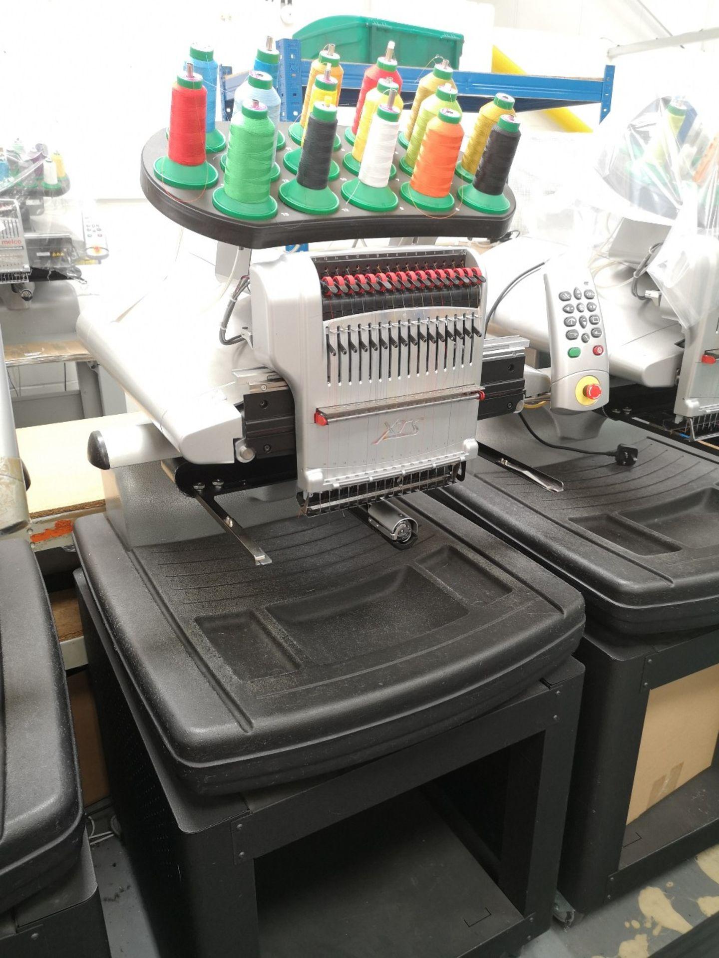 MELCO Amaya Embroidery machine XTS PN SRR30000-10