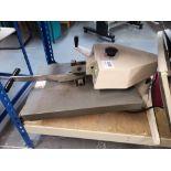 (2)XPRES BMC20 Swing Press T-Shirt Printing Machines