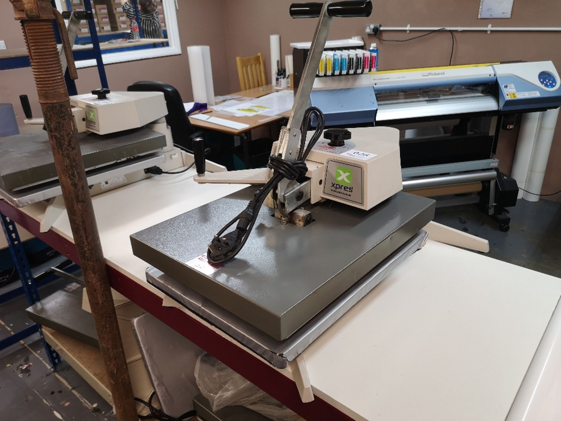 XPRES BMC20 Swing Press T-Shirt Printing Machine (2017)