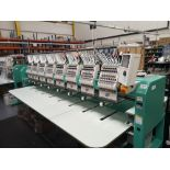 Tajima TFMX-II C1508 Electronic Multi Head Automatic Embroidery Machine (2019)