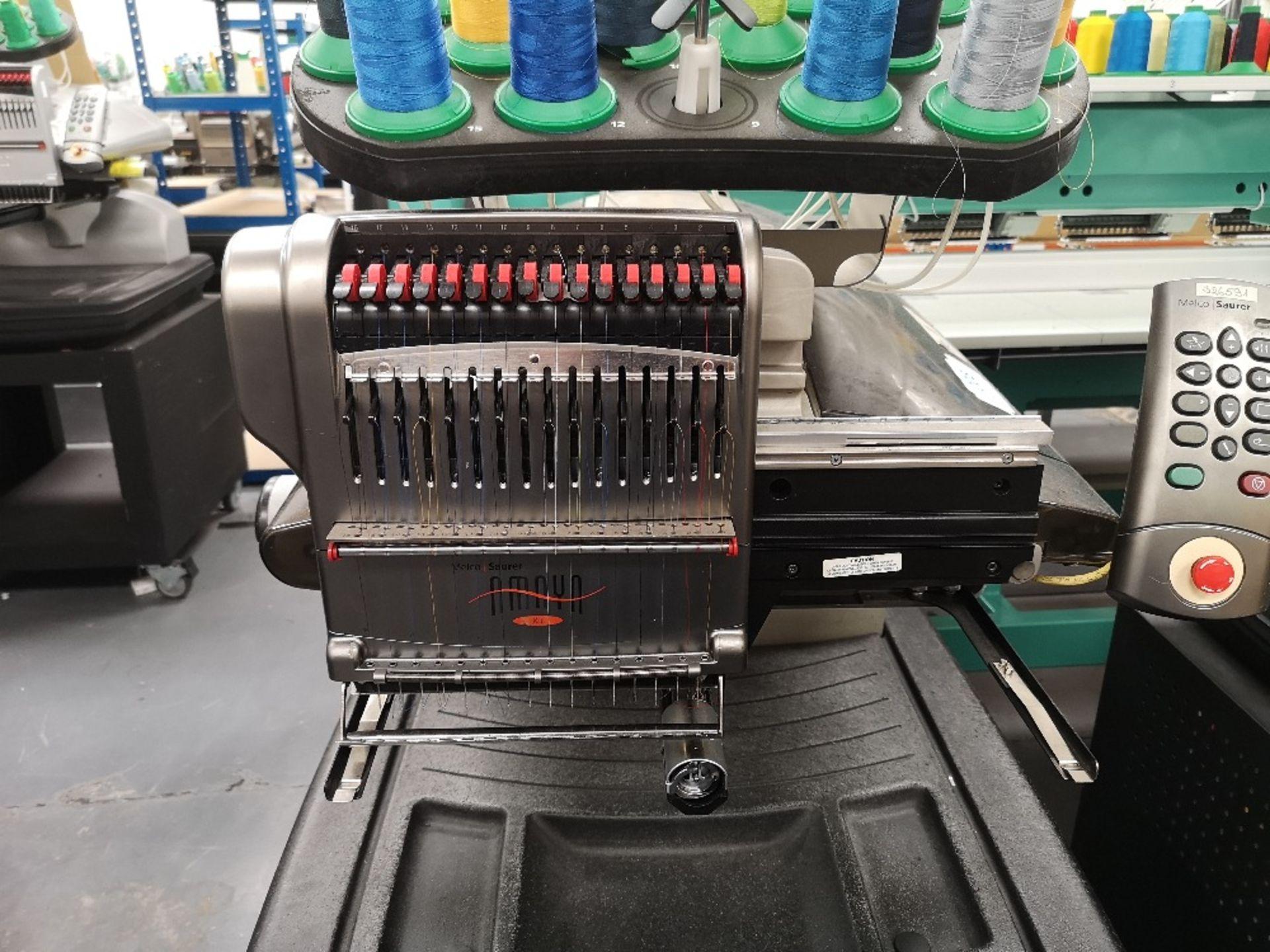 MELCO Amaya Embroidery Machine XT PN 3000007 - Image 3 of 4