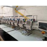 Tajima TMAR-K1508C Electronic Multi Head Automatic Embroidery Machine (2018)