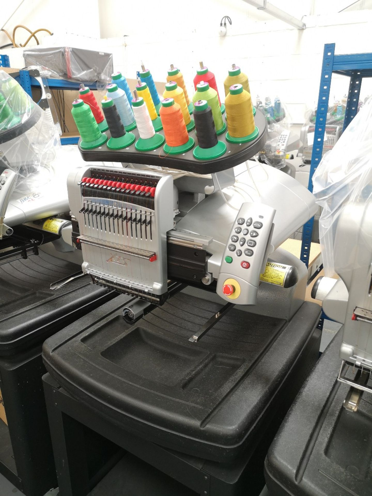 MELCO Amaya Embroidery machine XTS PN SRR30000-10 - Image 2 of 4