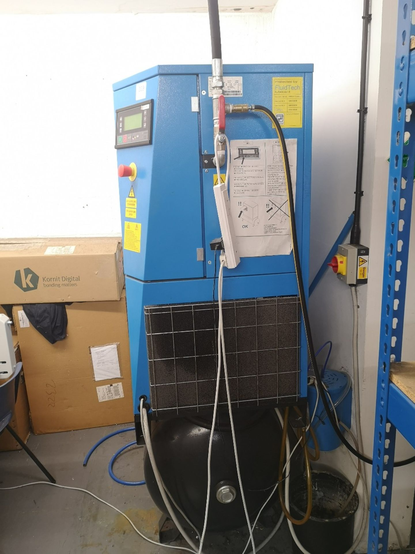ABAC GENESIS 11 270 Variable Speed Rotary Screw Air Compressor - Image 2 of 6