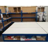 (3) Two Tier Boltless Packing Benches