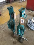 (2) Able Mechanical Steel Jacks
