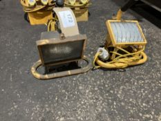 (2) 110V Halogen Lamps