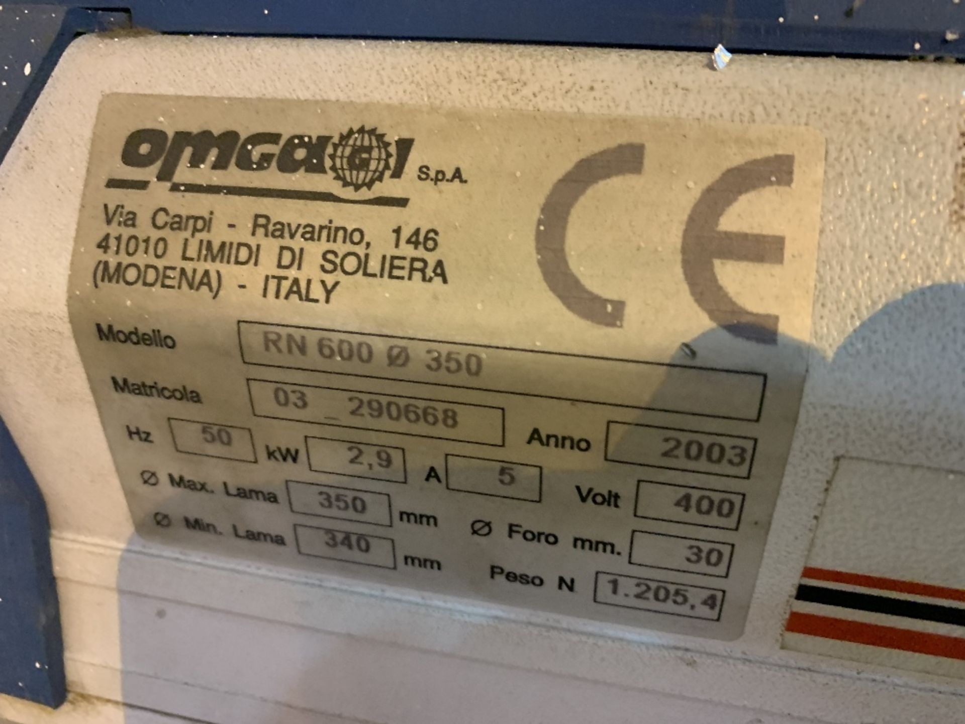 Omgear RN600 Vertical Radial Arm Saw - Image 4 of 4