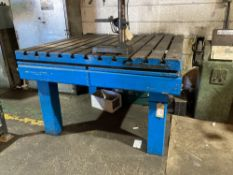 Heavy duty fabrication table