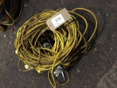(5) 110V Extension Cables