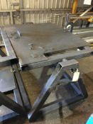 Fabricated Welding Support Benches