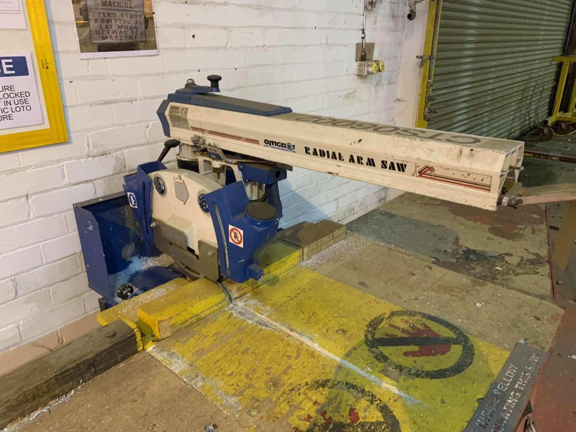 Omgear RN600 Vertical Radial Arm Saw - Image 2 of 4