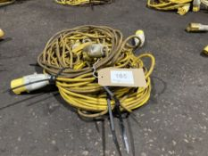 (3) 110V Extension Leads