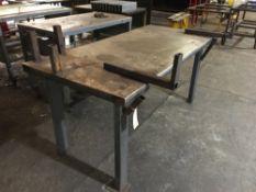 Steel Framed workbench