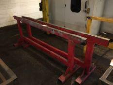 (2) Steel trestles