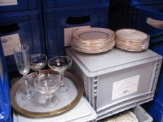 Quantity of various style glassware, tableware, crockery and other accessories